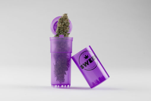 swees grinder CBD suisse violet purple